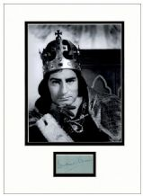 Laurence Olivier Autograph Signed - Richard III